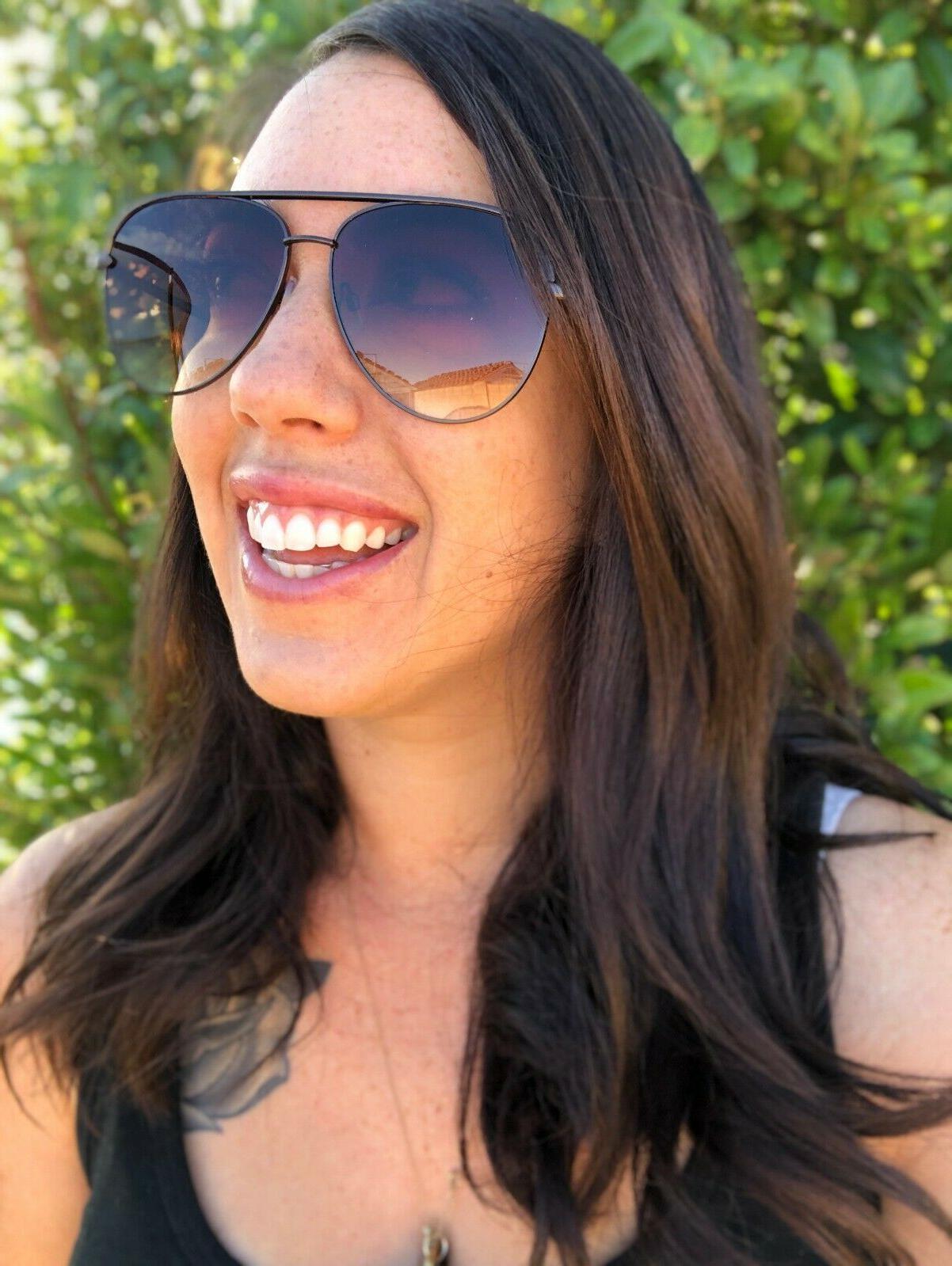 Aviator OVERSIZED Women Sunglasses Aviator Top Shadz