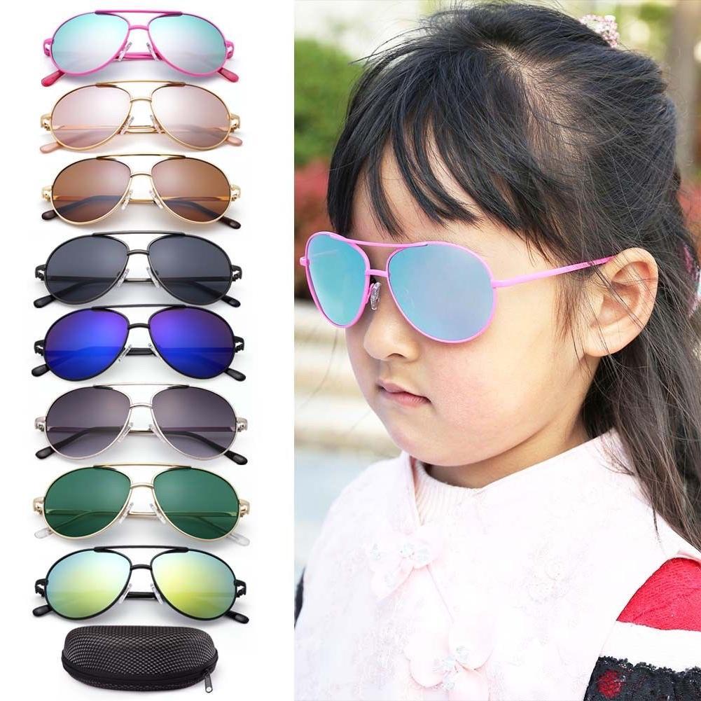 Children 7-12 Kids Sunglasses For Kid Boys Girls Youth Sport