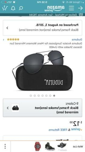 Duduma Aviator Sunglasses-UV400 Shade
