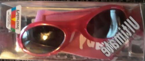 baby ultimate polarized pink infant sunglasses