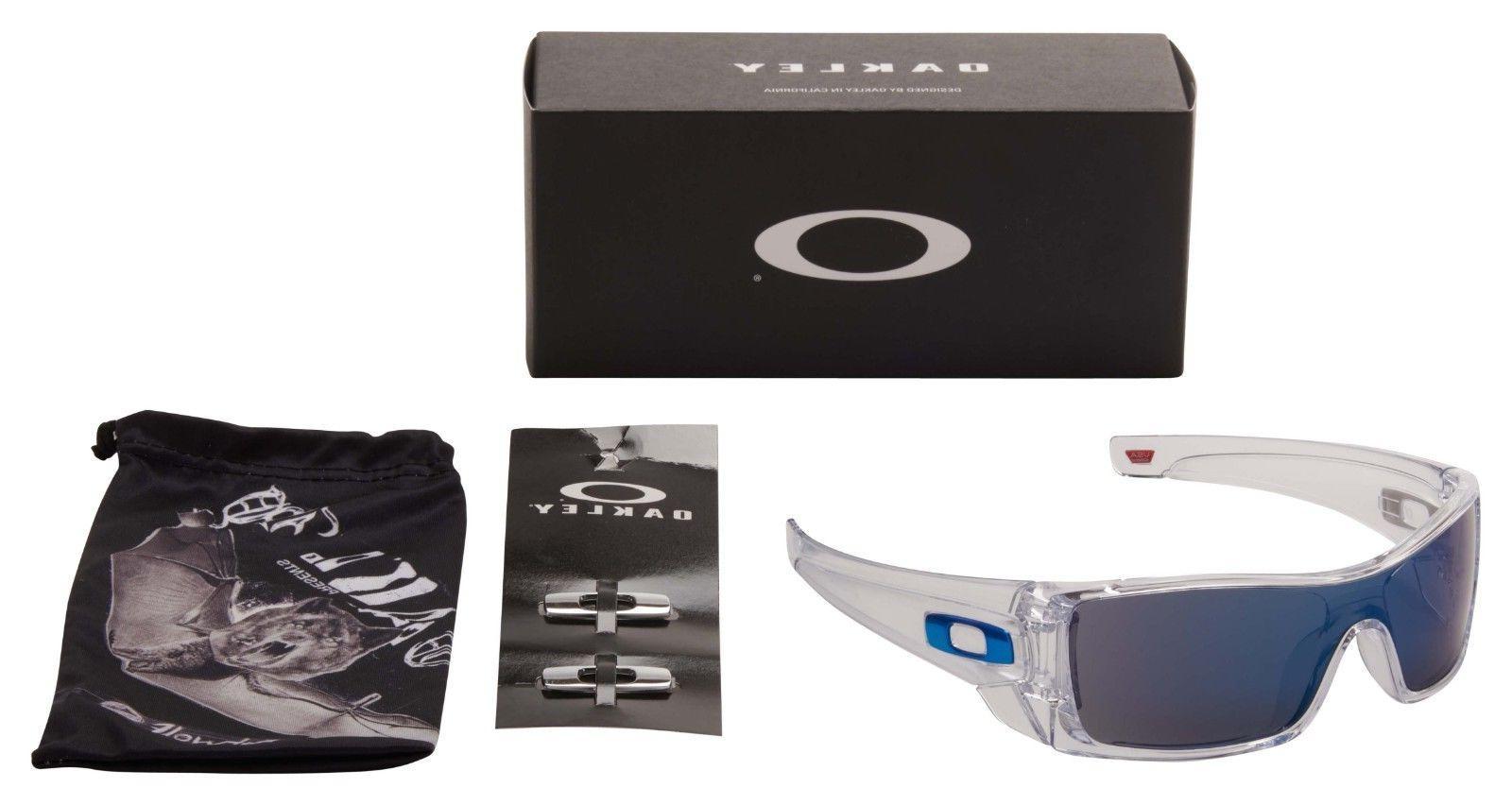 Oakley Sunglasses OO9101-07 Polished Clear Iridium Lens   BNIB