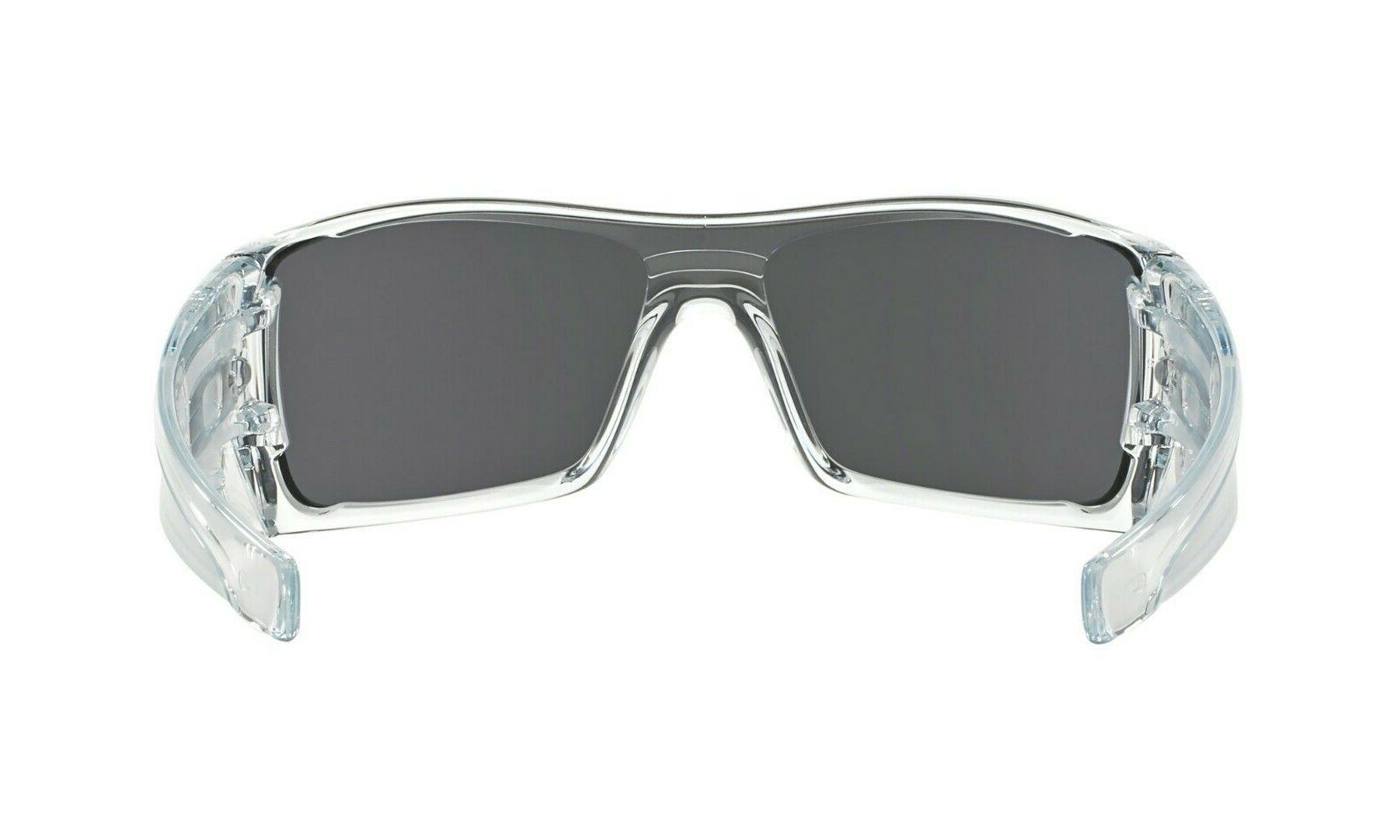 Oakley Batwolf Sunglasses Polished Clear Iridium Lens NEW