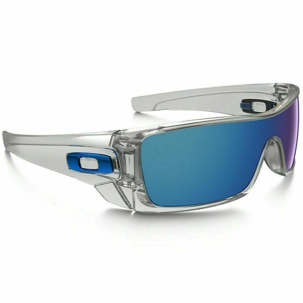 batwolf sunglasses oo9101 07 polished clear w