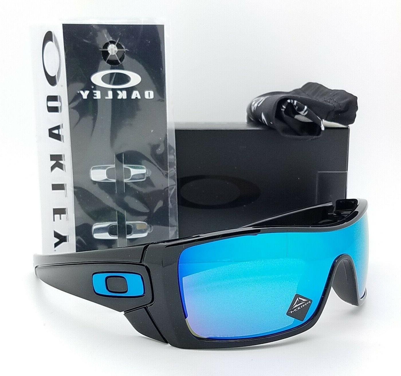 Oakley Batwolf Sunglasses OO9101-5827 Polished Black   Prizm