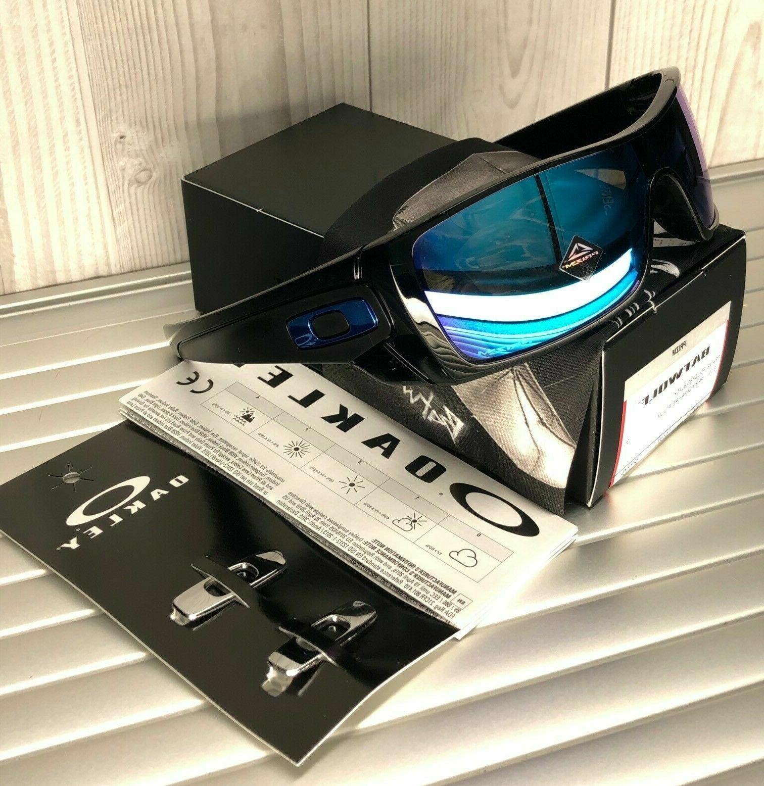 batwolf sunglasses oo9101 5827 polished black w