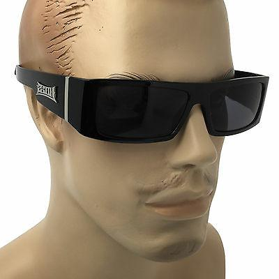 black frame sunglasses gangster og cholo biker