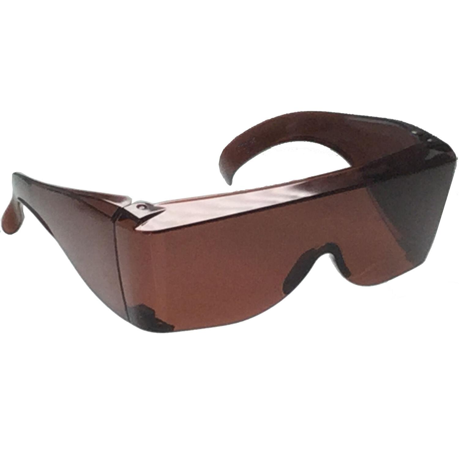 Blue Blocker Extra Fit COVER Over Rx Glasses Sunglasses Safety put