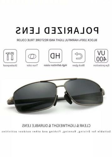 Brand Lightweight Designer Polarized UV400 Multiple