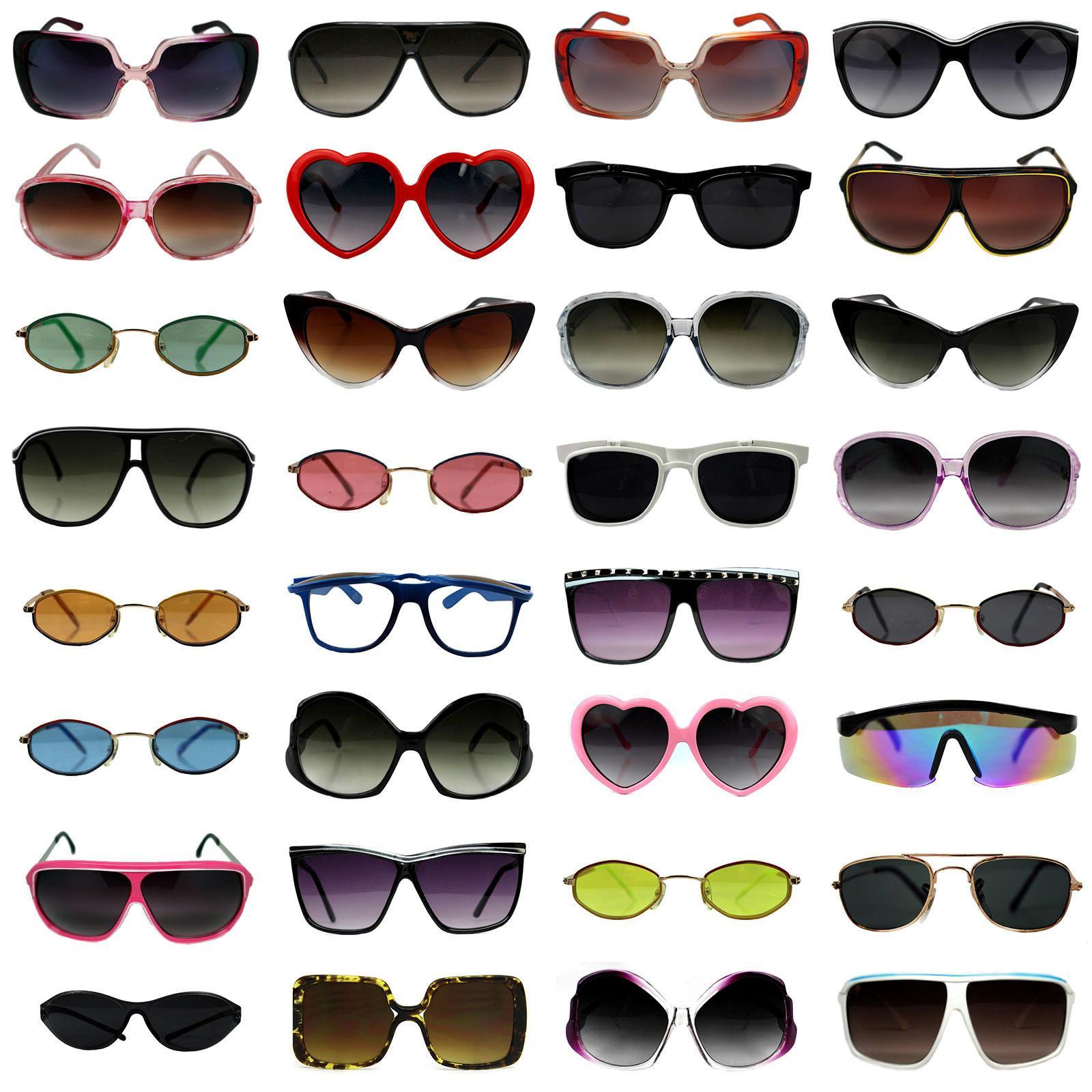 bulk wholesale sunglasses lot of 10 to
