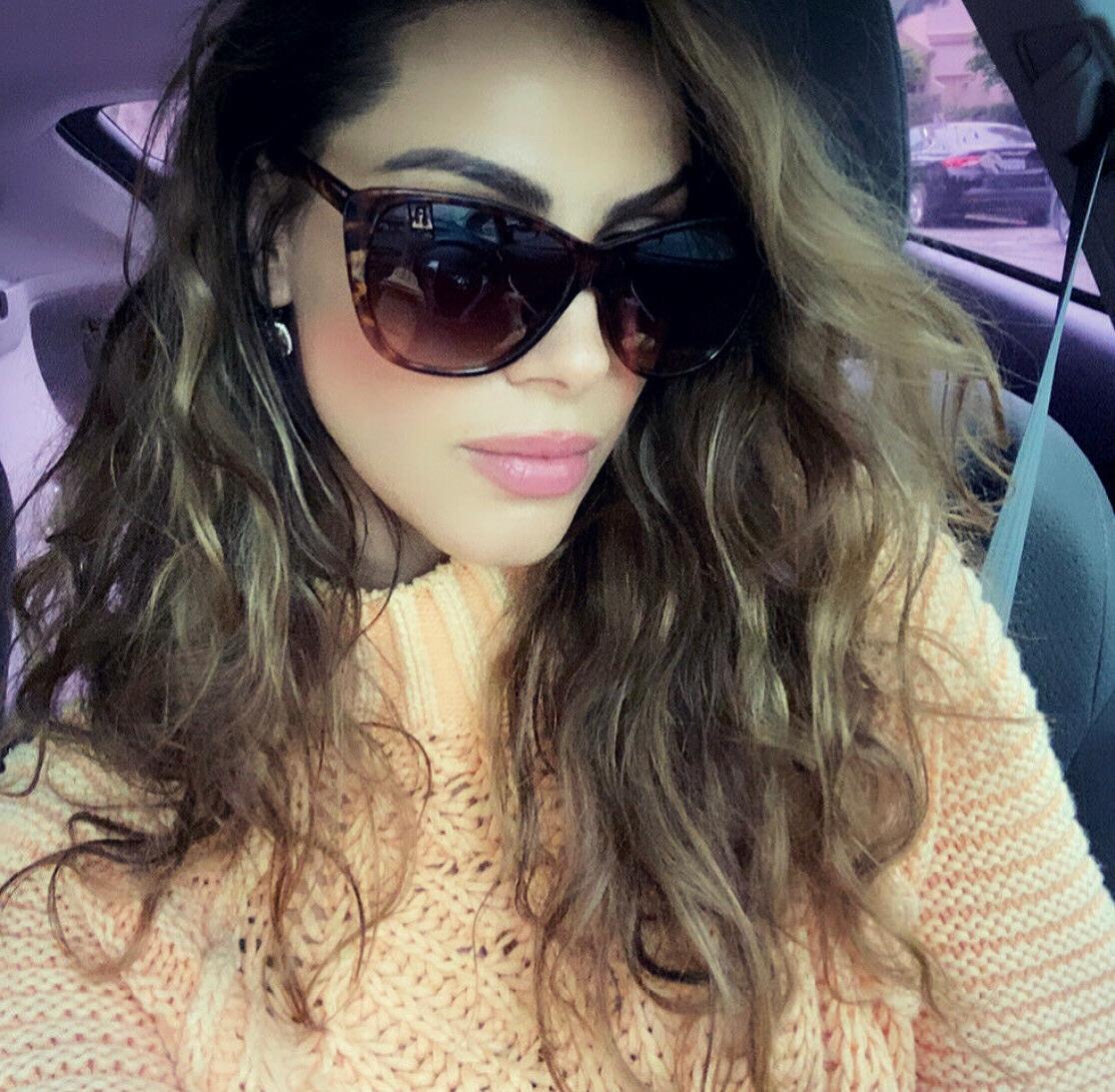 """CAT EYE Women Sunglasses XXL OVERSIZED """"KIRA"""" Aviator Square"""
