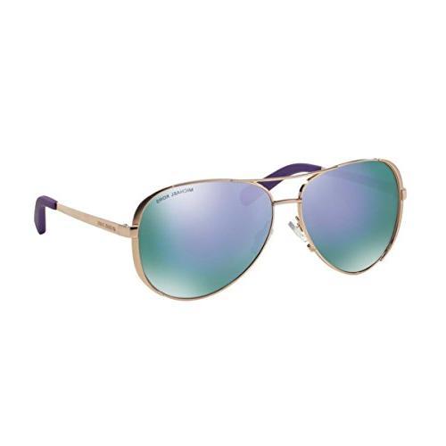 Michael Kors Sunglasses - Gold Purple