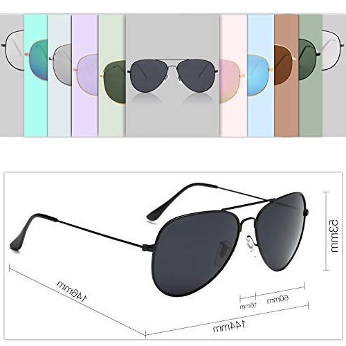 SOJOS Classic Sunglasses Mirrored SJ1054 with Frame/Grey Lens