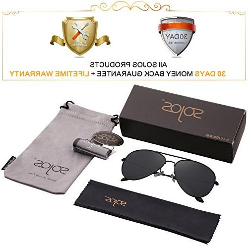 SOJOS Sunglasses Mirrored UV400 SJ1054 with Frame/Grey Lens