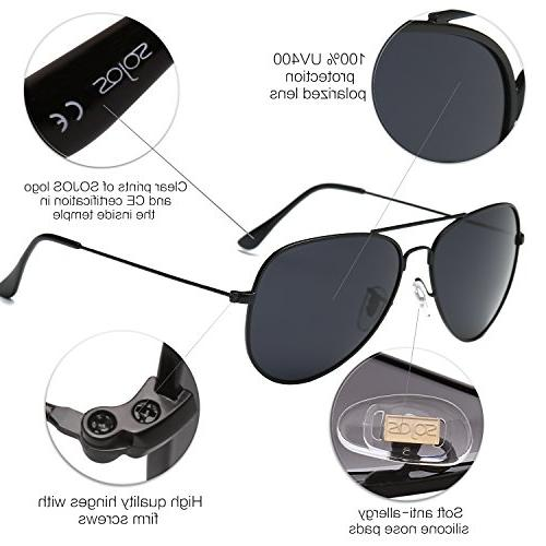 SOJOS Sunglasses Mirrored Lens SJ1054 Lens