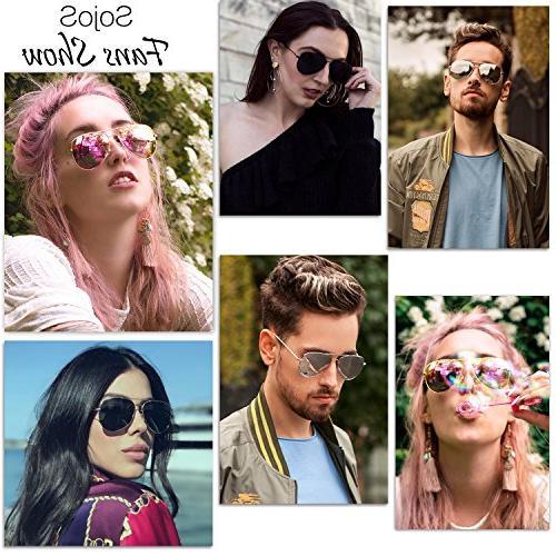 SOJOS Sunglasses UV400 SJ1054 with Lens