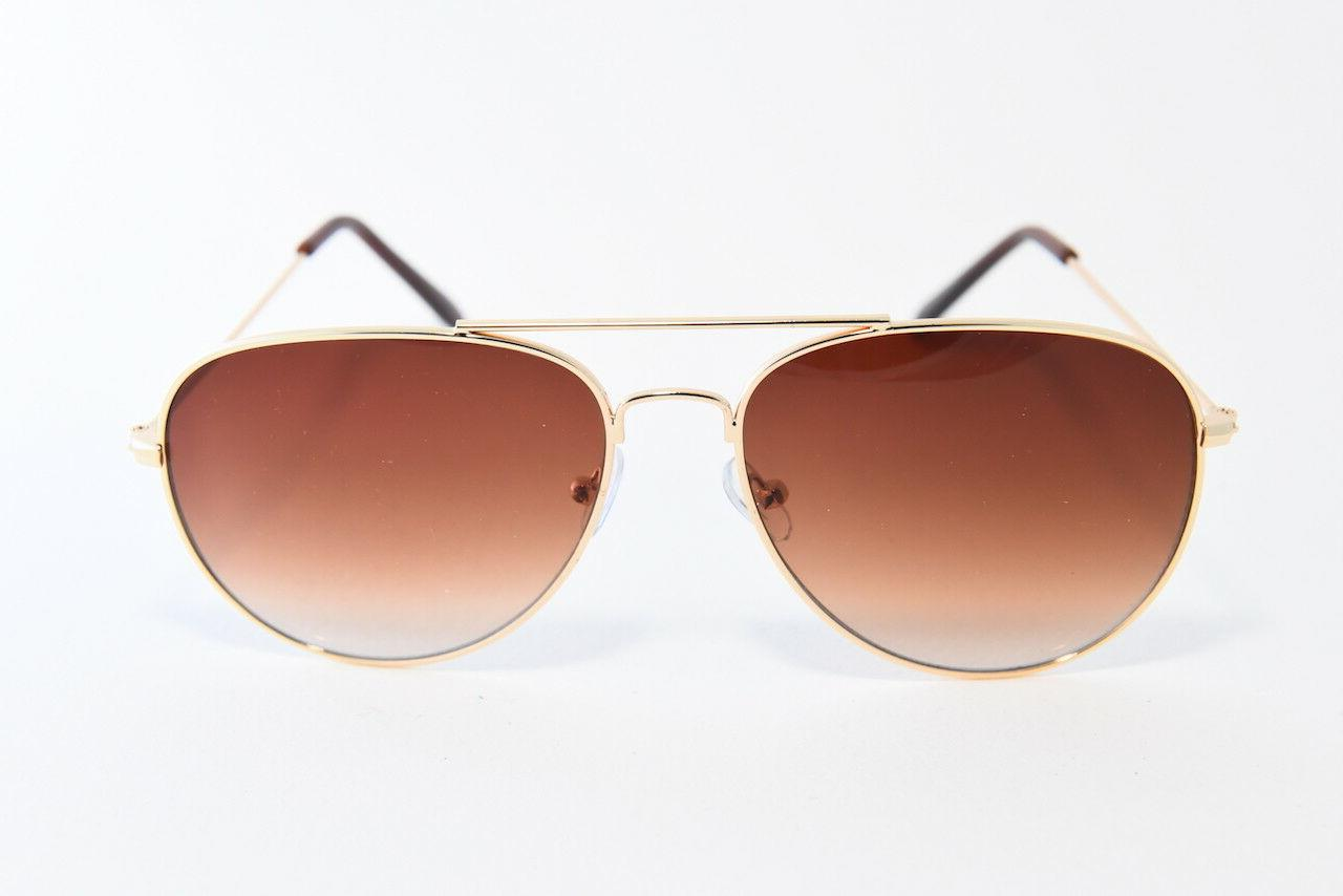 classic aviator sunglasses normal fit gold frame