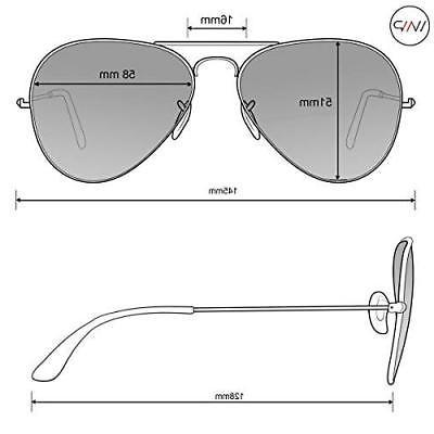 WearMe Classic Mirror Lenses Aviator