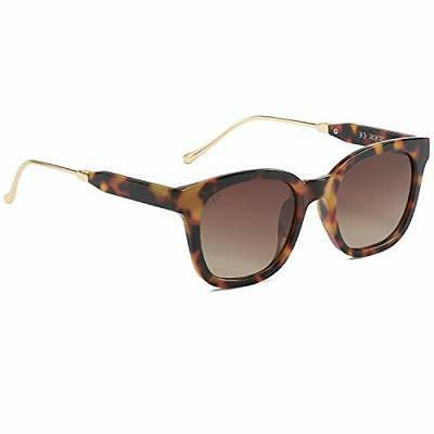 SOJOS Classic Square Polarized Sunglasses Unisex UV400 Mirro