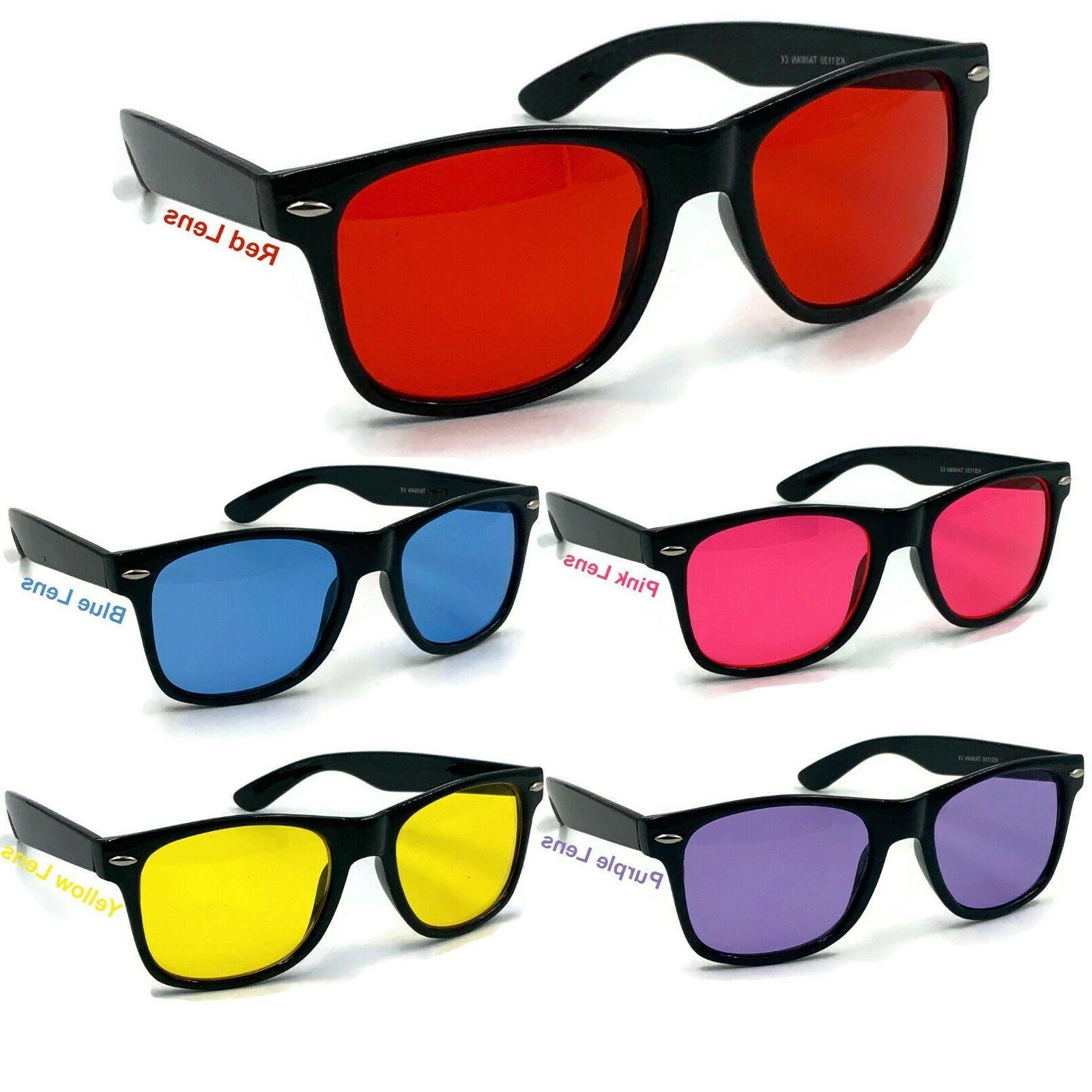 color tint lens glasses sunglasses classic men