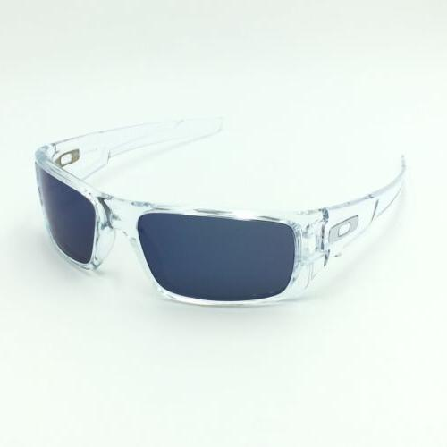 Oakley Crankshaft OO9239-04 Clear Sunglasses Iridium Lens 60mm