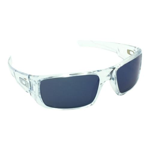 crankshaft oo9239 04 polished clear sunglasses w