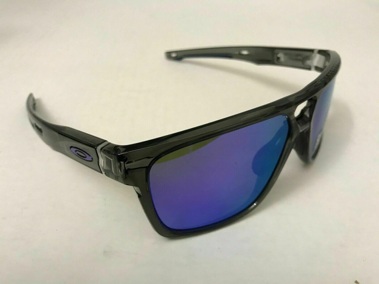 Oakley Patch OO9382-0260 Smoke W/ Violet Iridium Lens