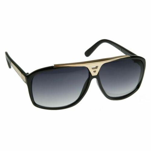 Designer Inspired High Fashion Square Top Sunglasses