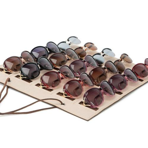Eyeglass Storage Stand for 15 Glasses wall