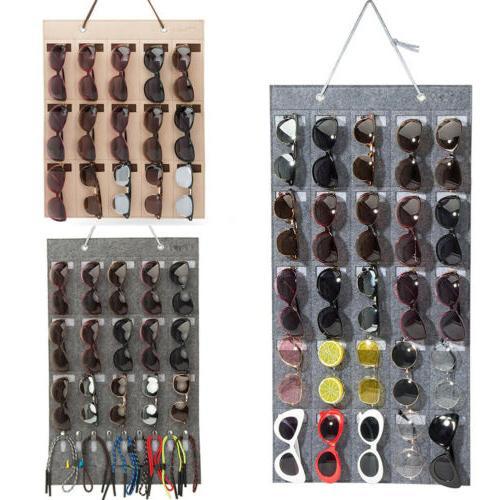 eyeglass sunglasses storage display stand organizer
