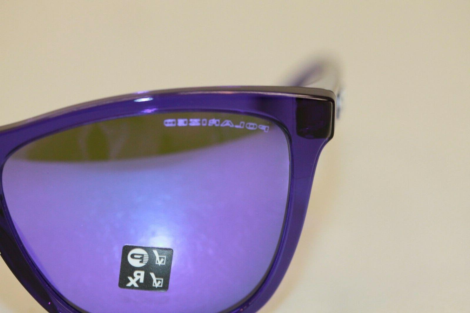Oakley FROGSKINS POLARIZED OO9013-H855 Crystal Iridium