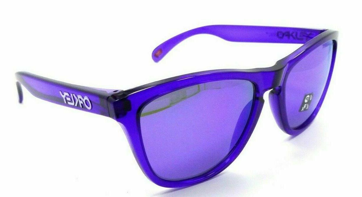 frogskins polarized sunglasses oo9013 h855 crystal purple