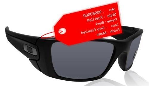 38e0e8ca23066 Oakley Fuel Cell Sunglasses Polished Black Matte Black