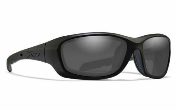 Wiley X Gravity Sunglasses, Smoke Grey/Matte Black