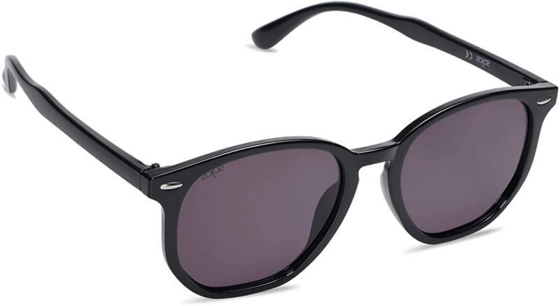SOJOS Hexagonal Polygon Polarized Sunglasses for Men Women T