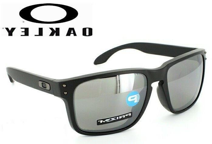 holbrook polarized sunglasses oo9244 2556 matte black