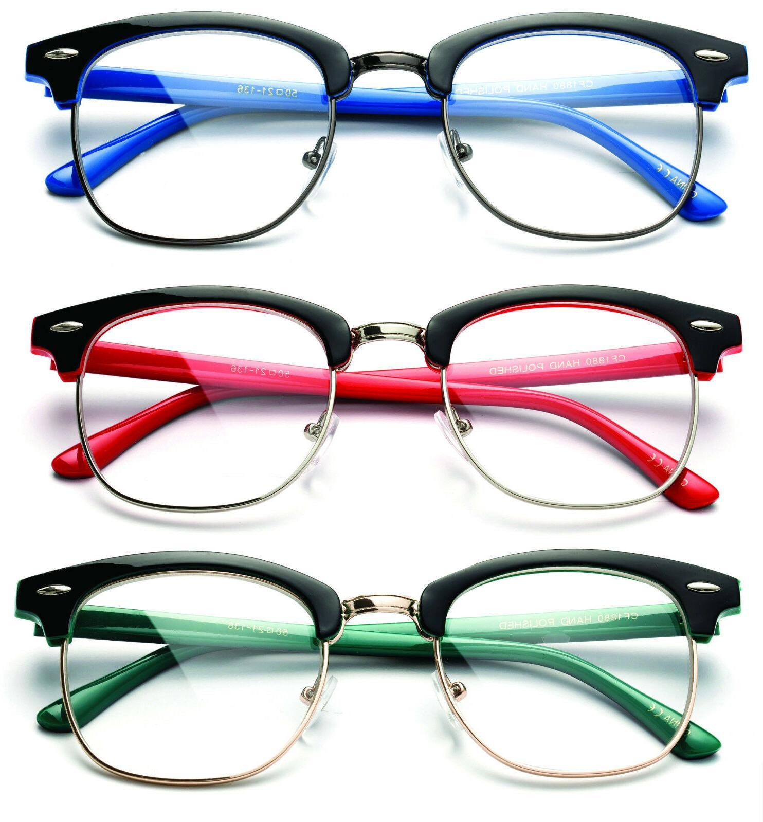 Interview Lens Glasses Nerd Geek 100%