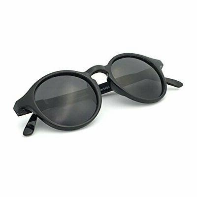 J+S Hali Retro Round Cat Eyes Sunglasses, Polarized, 100% UV