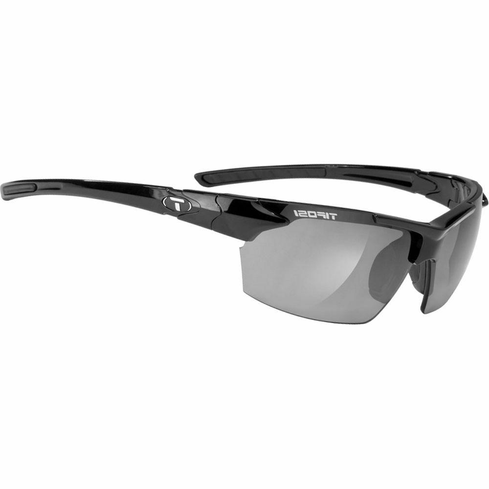 Tifosi Jet Gloss Black  with Smoke Lens