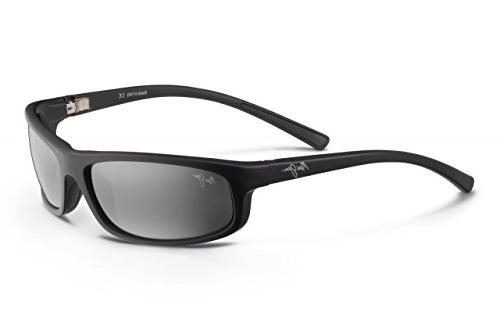 Maui Jim Legacy Polarized Sunglasses Matte Black / Neutral G