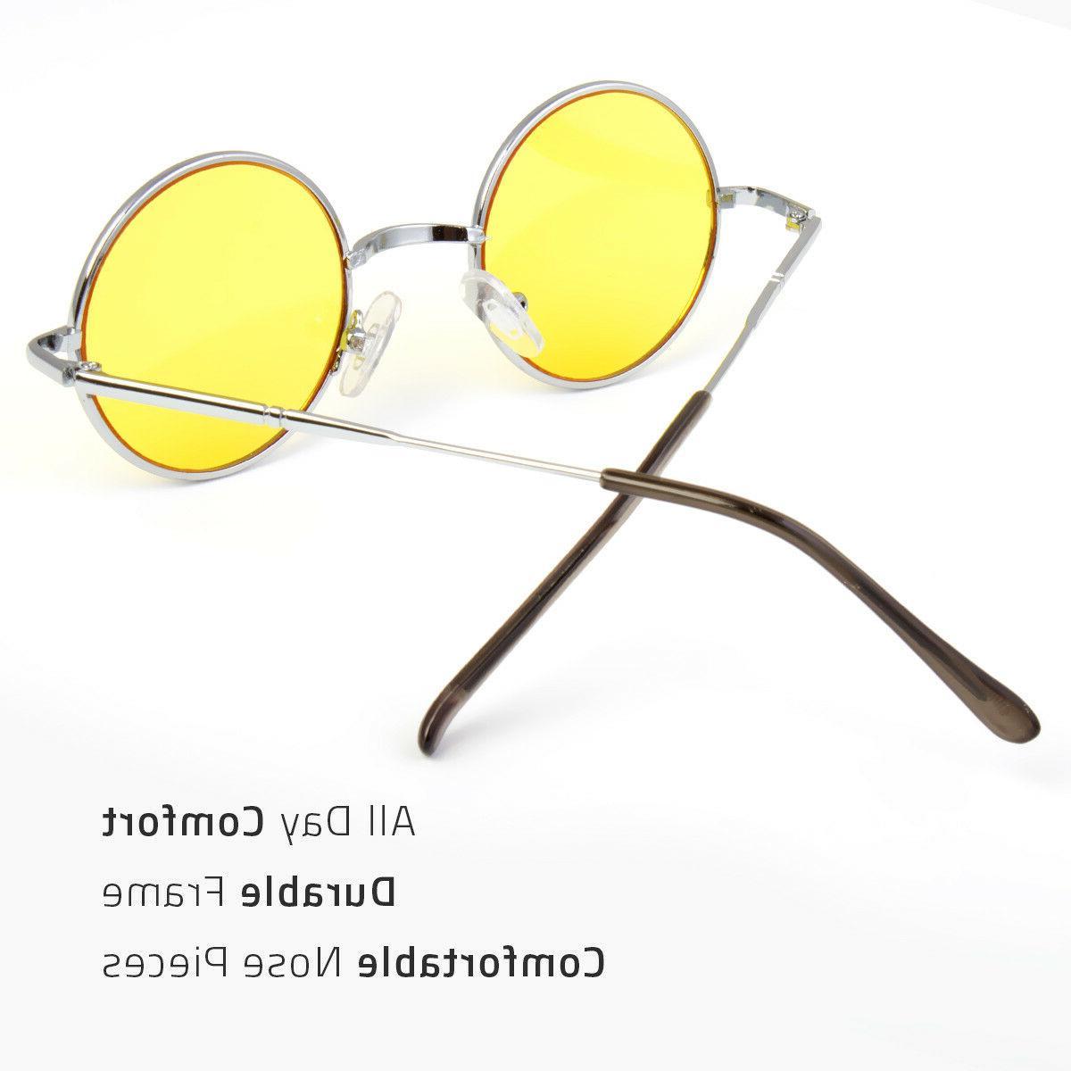 John Lennon Sunglasses Round Retro Style 60S