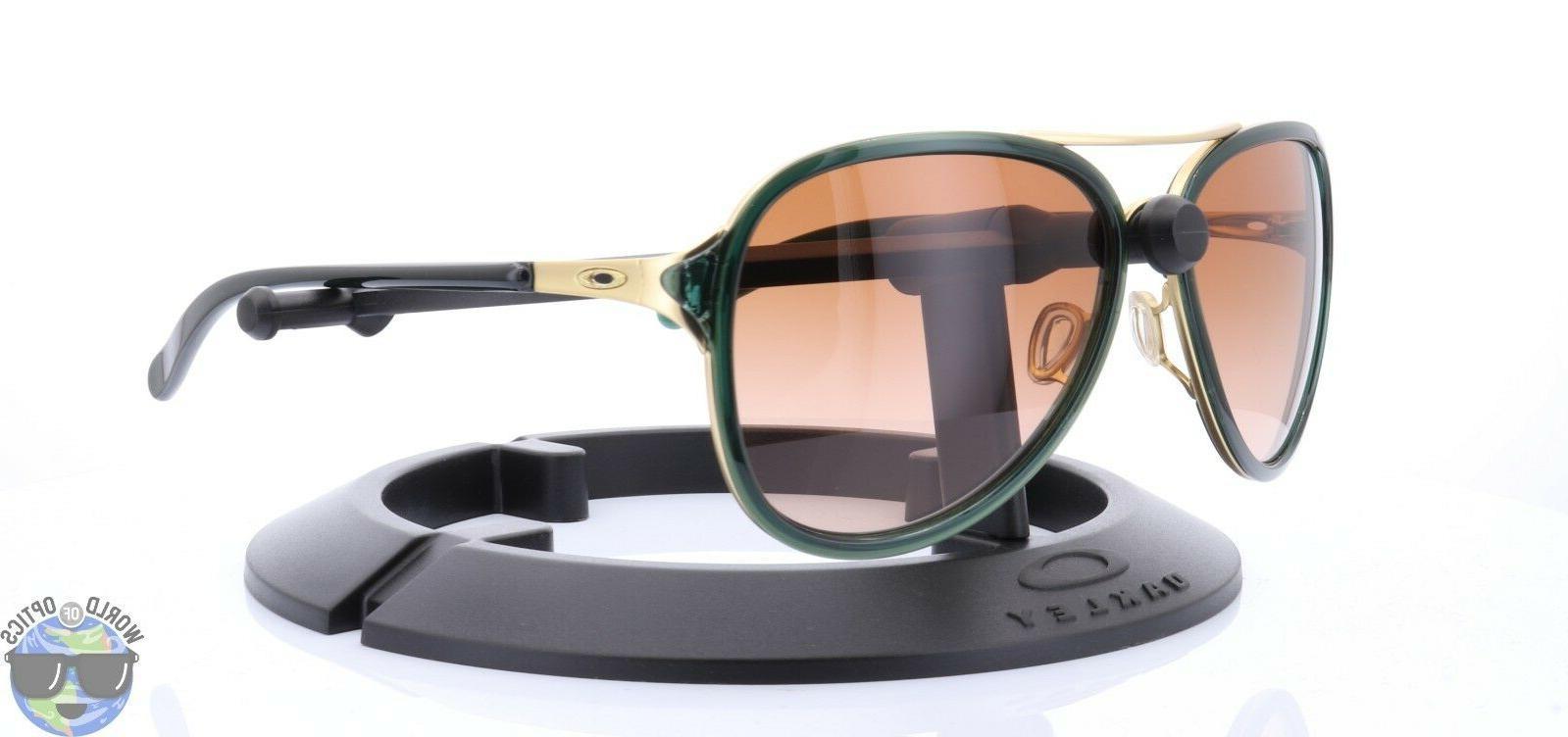 Oakley Kickback Women's Sunglasses OO4102-11 Tourmaline w/ V