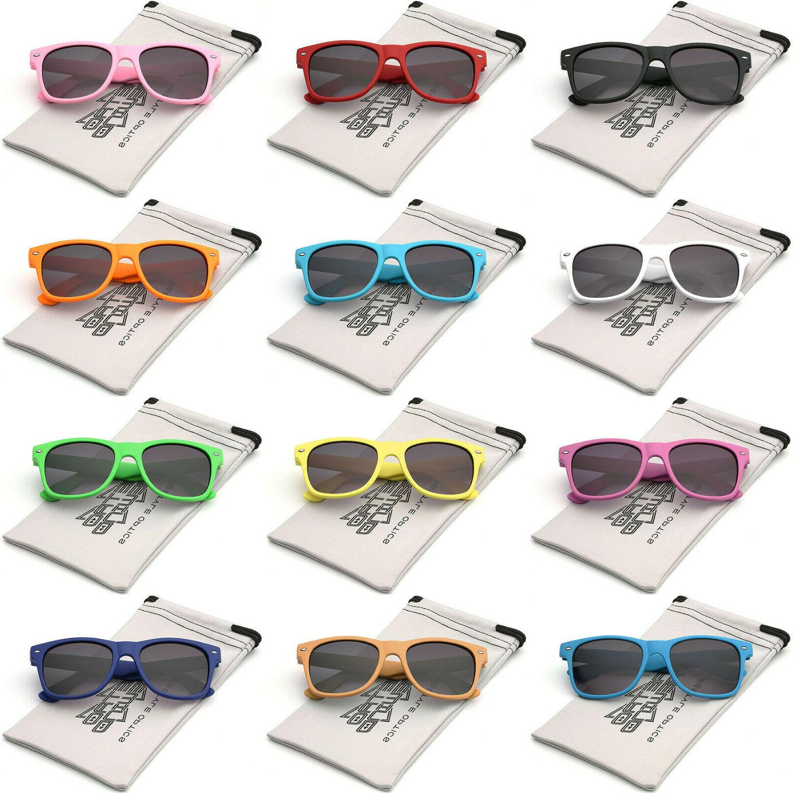 Kids Retro Sunglasses Boys Girls Toddler Preschool Grade Sch