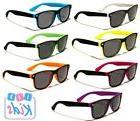 Kids / Children's Retro Sunglasses -Two Tone Frame - 5/10 Ye