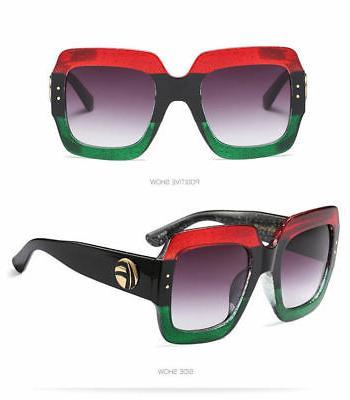 Large Sunglasses Lens Women Fashion
