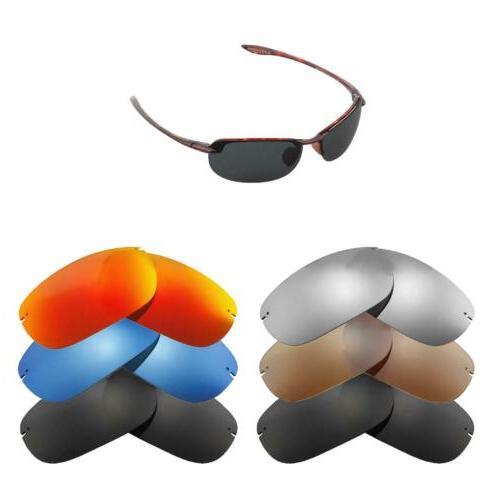 Walleva Lenses for Maui Jim Makaha Sunglasses-Multiple Optio