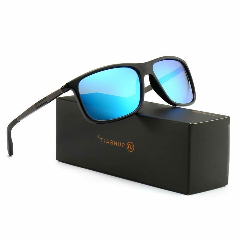lightweight polarized sunglasses for men women uv400