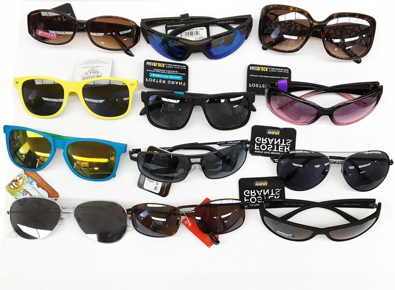 Lot-Of 100 Pairs Of Assorted Adult Men's & Women's Sungl