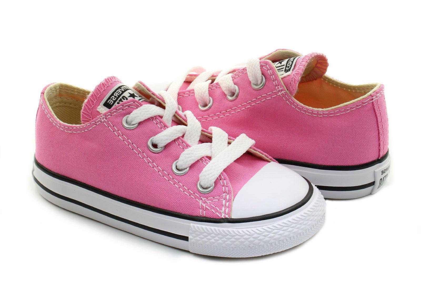 Converse Low Top All Star Ox Baby Boy Girl Toddler Infant Pi