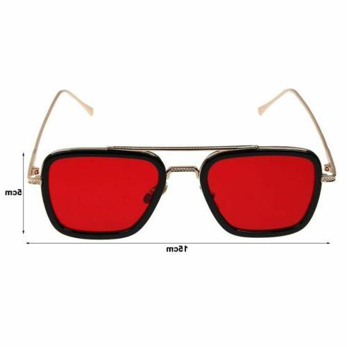 Tony Stark Flight 006 Iron Glasses
