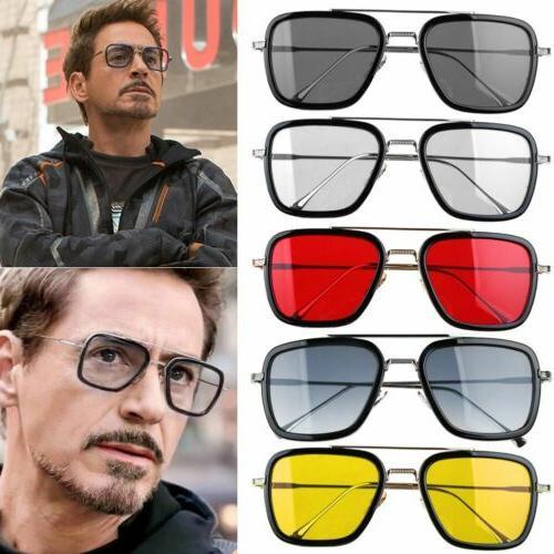 marvel tony stark men sunglasses flight 006